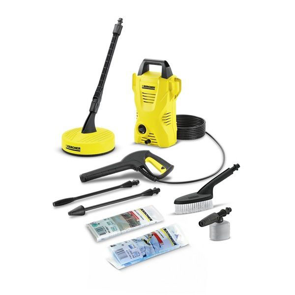 Karcher K2 Compact Luxury - Car & Home Pressure Washer Package
