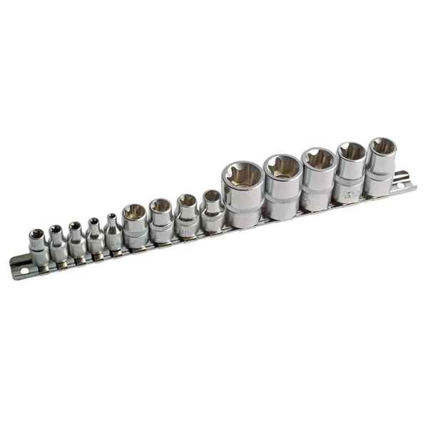 Star Socket Set - 14pc