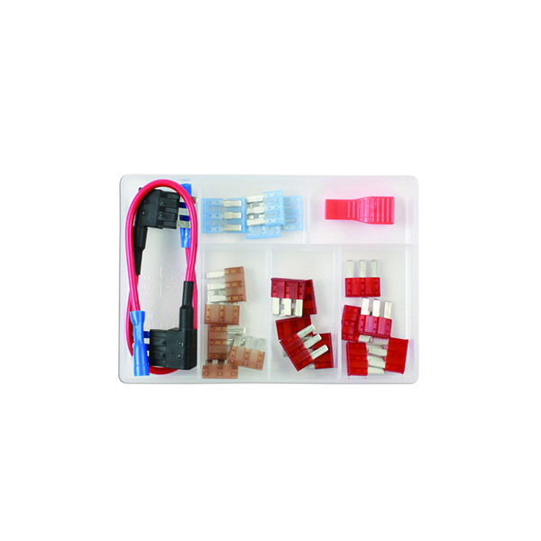 Micro 3 Blade Fuse Assortment Kit - 23 Pieces