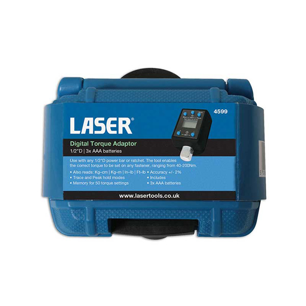 "Laser Digital Torque Adaptor 1/2""D"