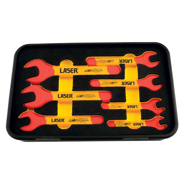 Laser Insulated Wrench Set 7pc