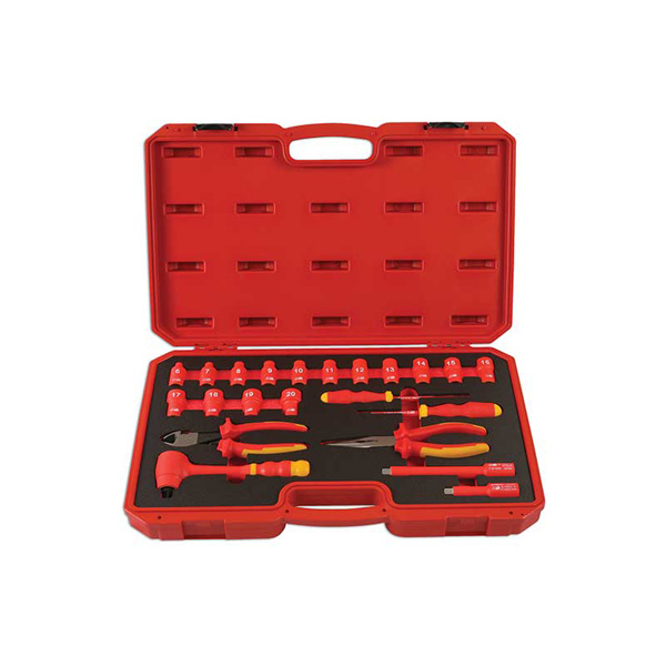 "Laser Insulated Tool Kit 3/8""D 22pc"
