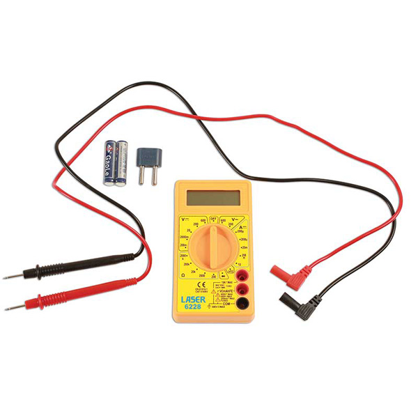 Laser Multimeter - Digital