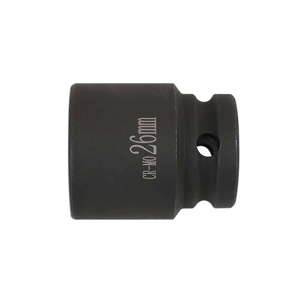 "Laser Brake Caliper Socket 26mm 1/2""D"