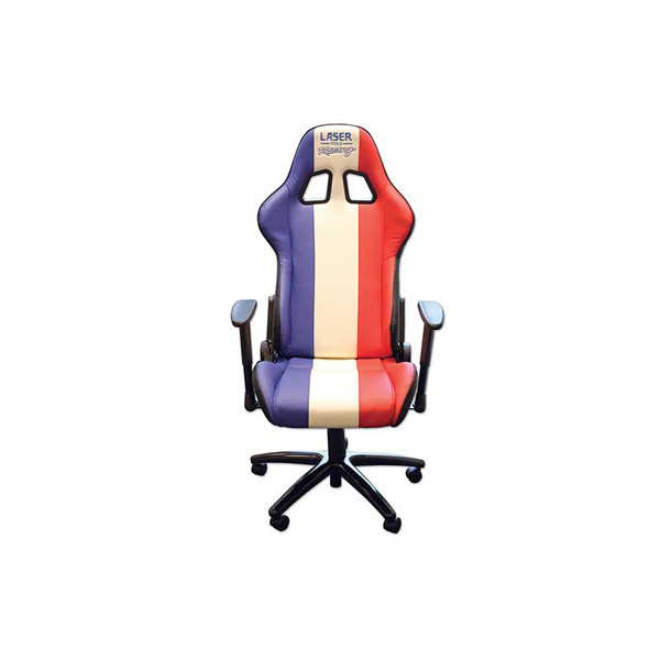 Laser Laser Tools Racing Chair Red/White/Blue