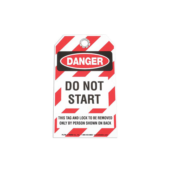 Laser Safety Tag - DO NOT START
