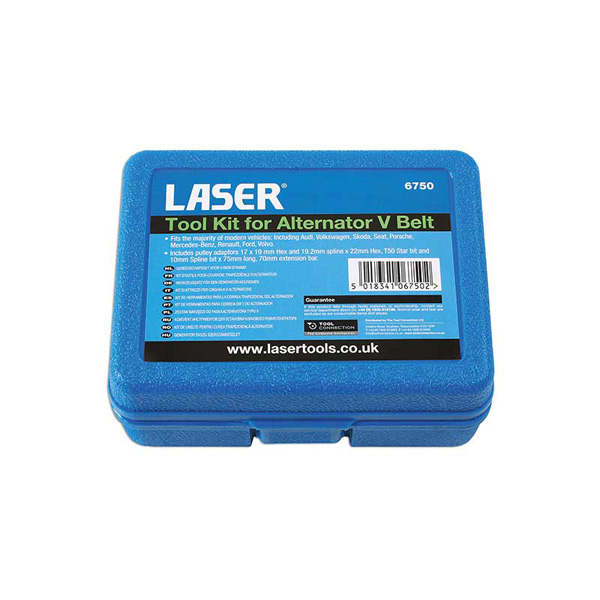 Laser Tool Kit for Alternator V Belt