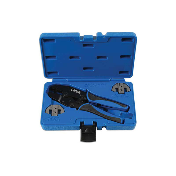 Laser Ratchet Crimping Tool - Supaseal Connectors