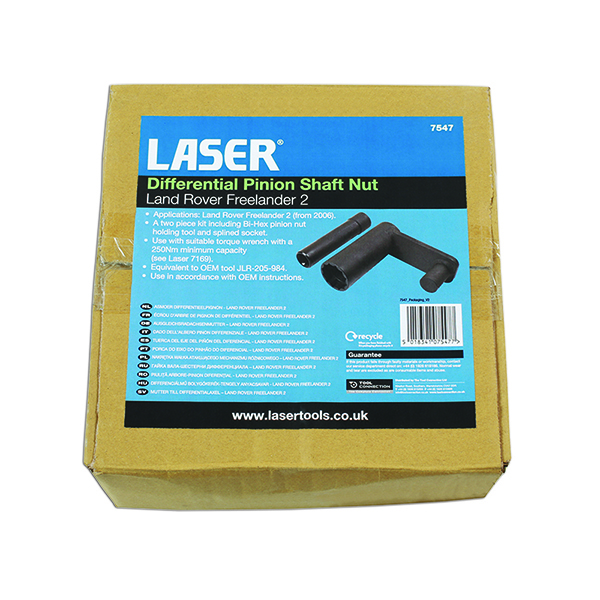 Laser Differential Pinion Shaft Holding Tool - LR Freelander 2