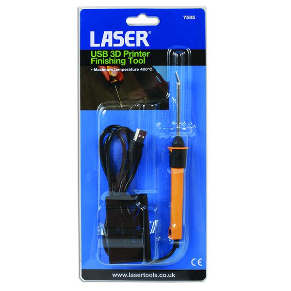 Laser USB 3D Printer Finishing Tool