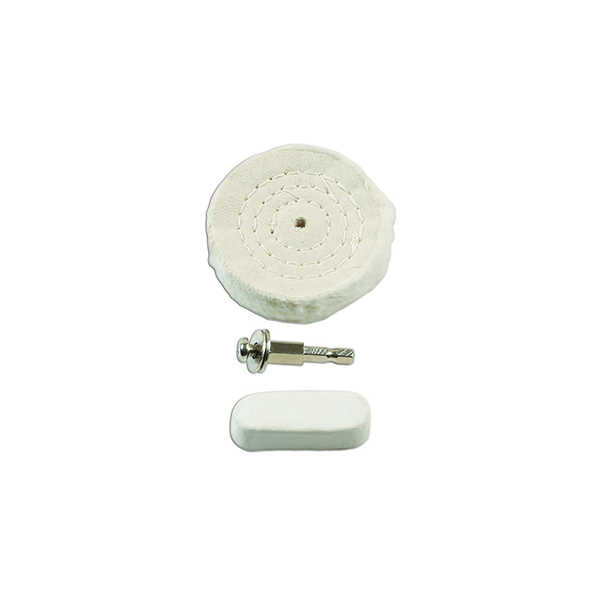 Laser Soft Metal Compound and Buffing Wheel Set
