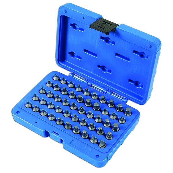 """Laser Stubby Bit Set 1/4""""D 50pc"""