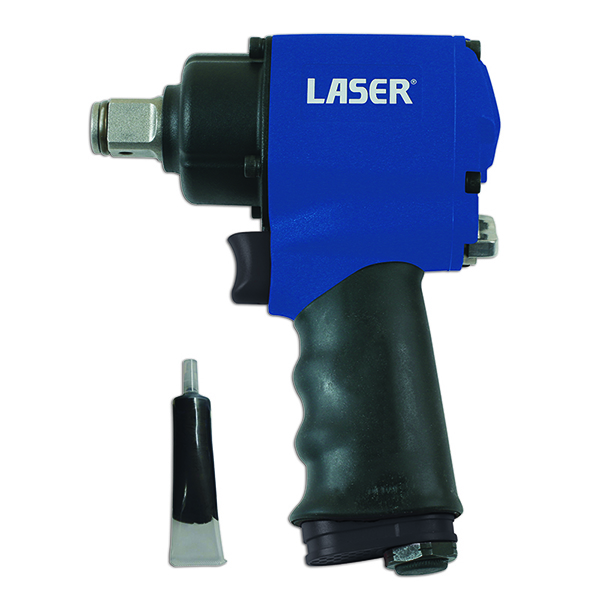 "Laser Impact Wrench 3/4""D - Twin Hammer 146mm long"
