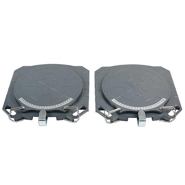 Gunsons Steering Turntables - Aluminium  4000kg (Pair)
