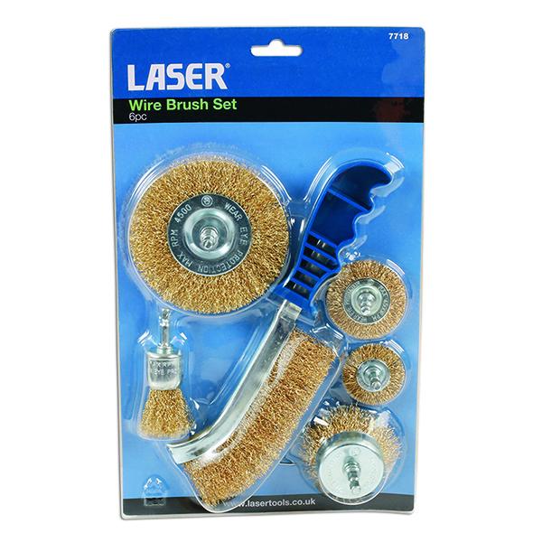 Laser Wire Brush Set 6pc