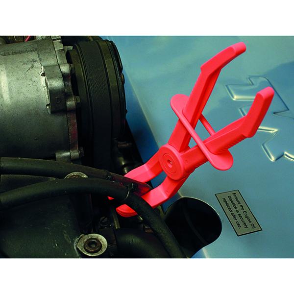 Laser Flexible Hose Clamp Set Angled Jaws