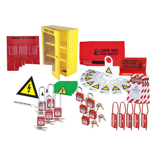 Laser Hybrid Master Lockout Management Kit