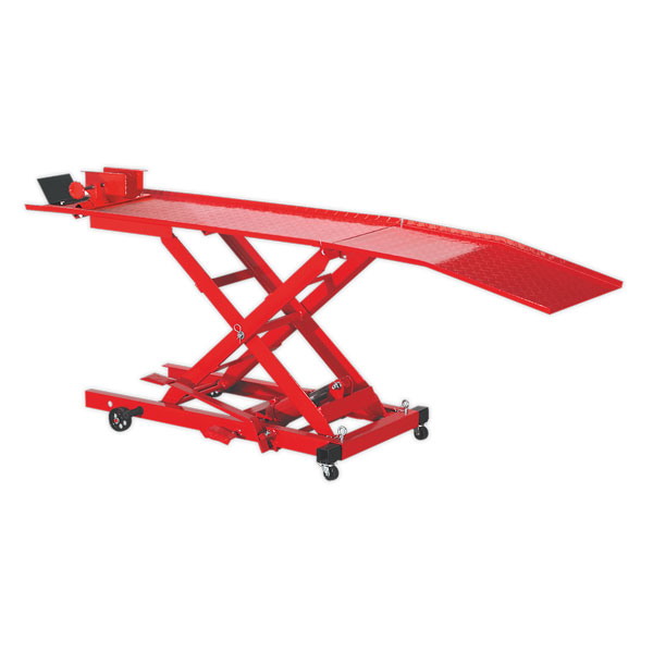 Sealey MC365 Motorcycle Lift Yankee 365kg Hydraulic