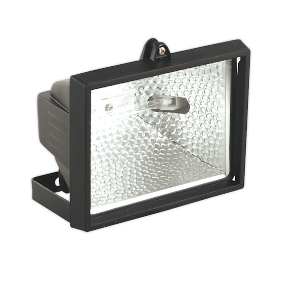 Sealey MD500C Tungsten/Halogen Floodlight with Wall Bracket 500W/230V