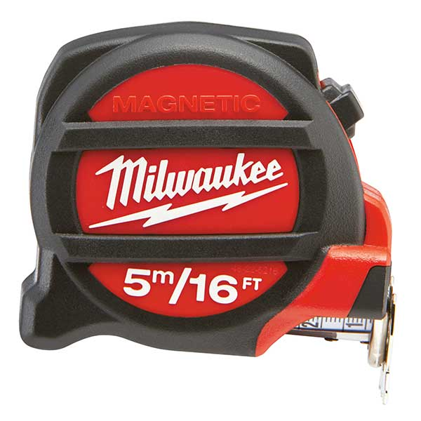 Milwaukee Tape Measure Metric & Imperial 5 Metres