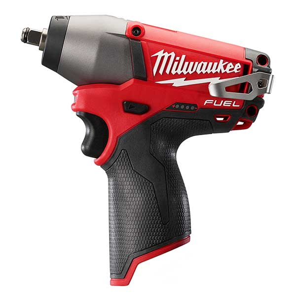 "Milwaukee New M12 Fuel Compact Impact Wrench 3/8"" Reception (Naked)"