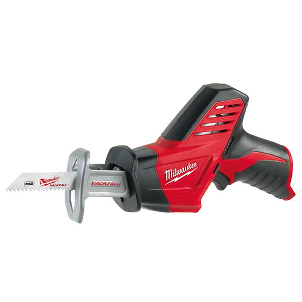 Milwaukee New M12 Compact Hackzall (Naked - No Batteries Or Charger)