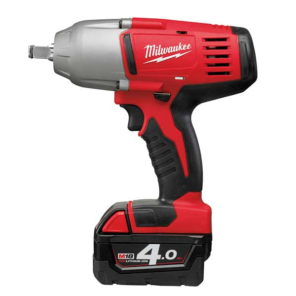 M18 Friction Ring Impact Wrench  (incl 2 x 4.0ah batteries)