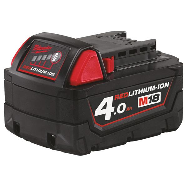 Milwaukee M18 4.0Ah REDLITHIUM-ION Battery