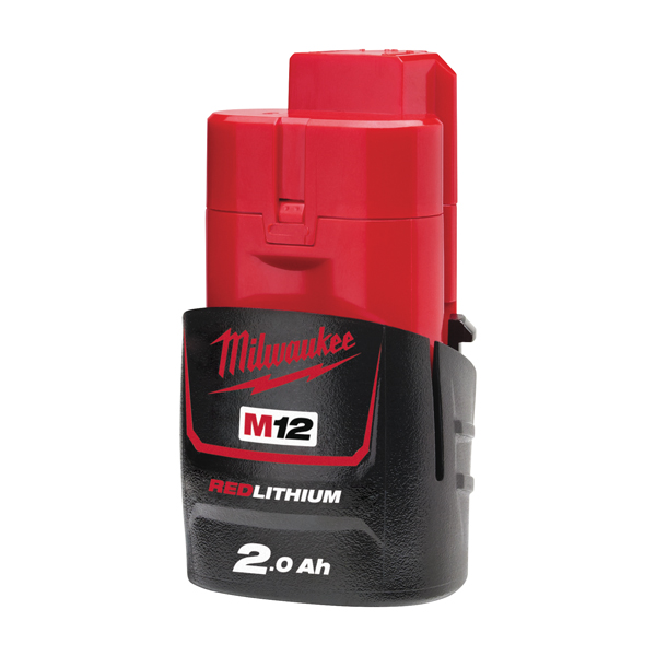 Milwaukee M12 1.5Ah Red Lithium-Ion Battery