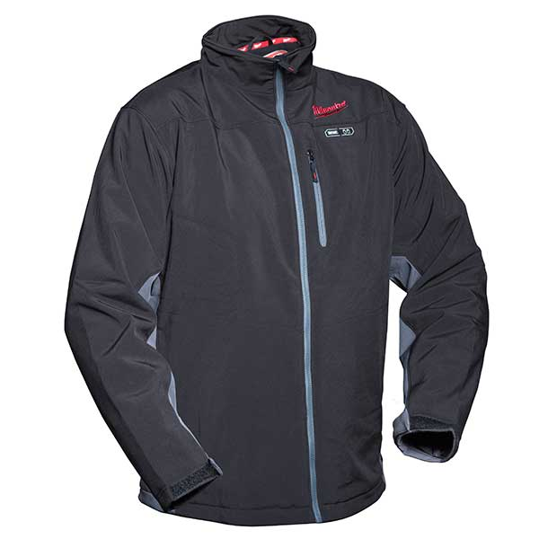 Milwaukee Black Premium Heated Jacket Size Extra Large (No Batteries Or Charger)