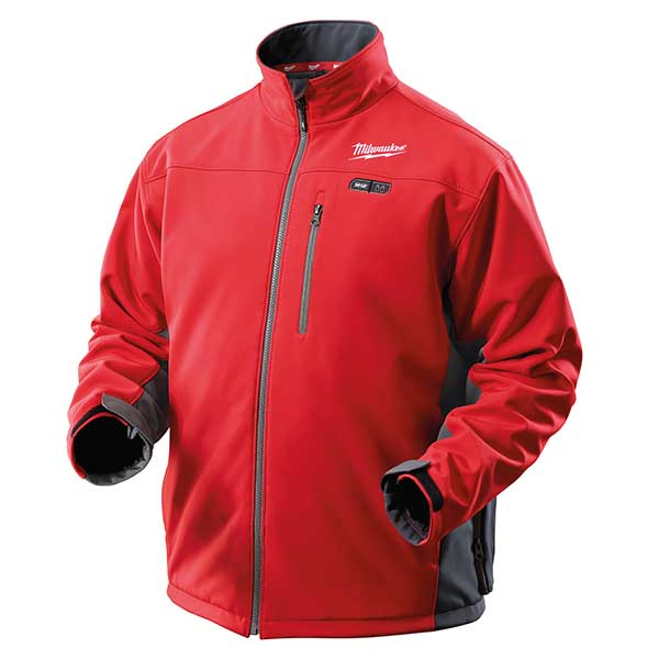 Milwaukee M12 Red Premium Heated Jacket Size Large No Batteries Or Charger