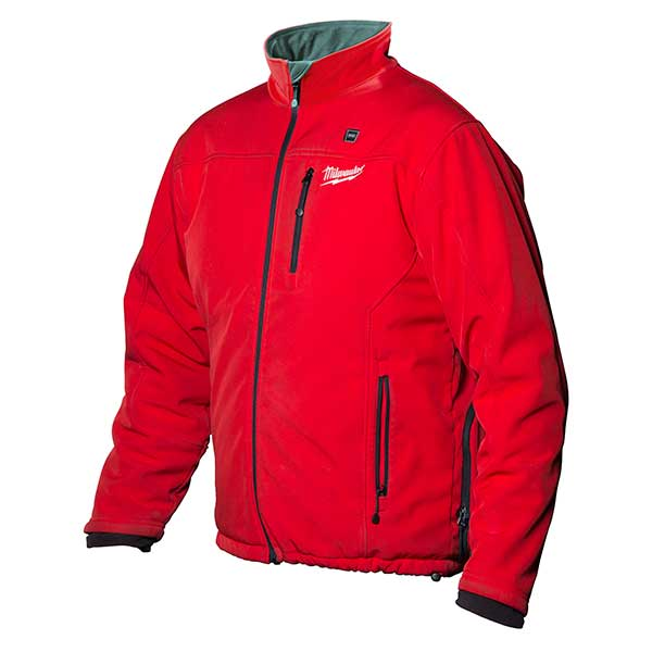 Milwaukee M12 Red Premium Heated Jacket - Size Extra Large (Not incl Batteries Or Charger)