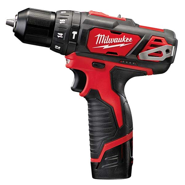 Milwaukee M12 Bpd-202C Compact Percussion Drill 2 X 2Amp Hour Batts