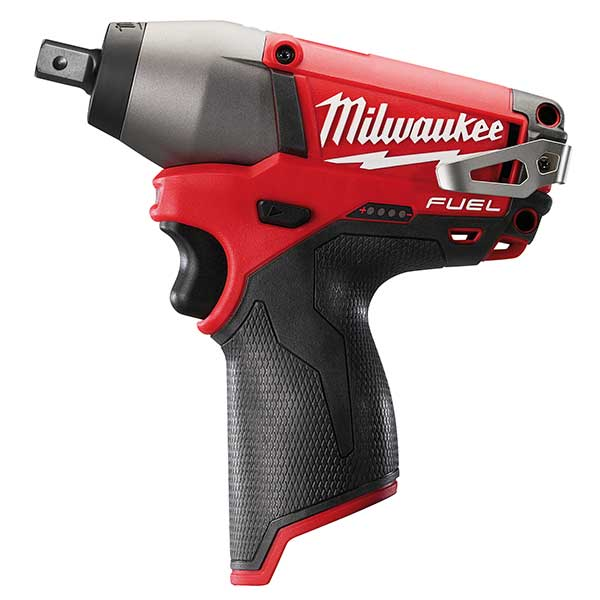 Milwaukee M12 Fuel Compact Impact Wrench 1/2 Inch (Naked - No Batts Or Charger)