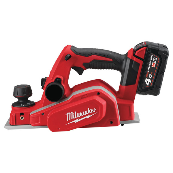 Milwaukee M18 Planer (2 x 4.0ah batteries, charger, BMC)