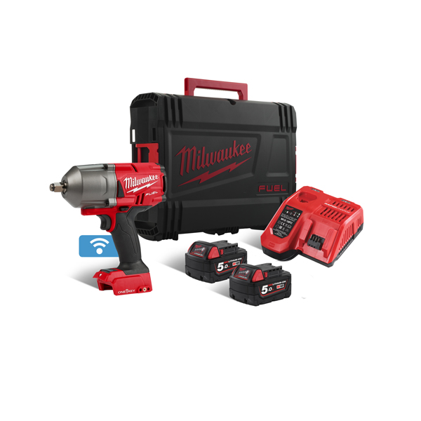 Milwaukee M18 5amp Fuel One-Key High Torque 1/2 Impact Wrench (Kit)