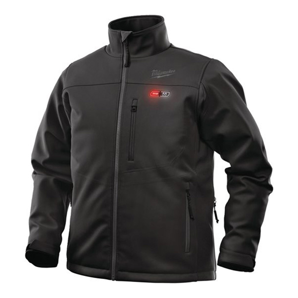 Milwaukee M12 Black Heated Jacket Small Naked