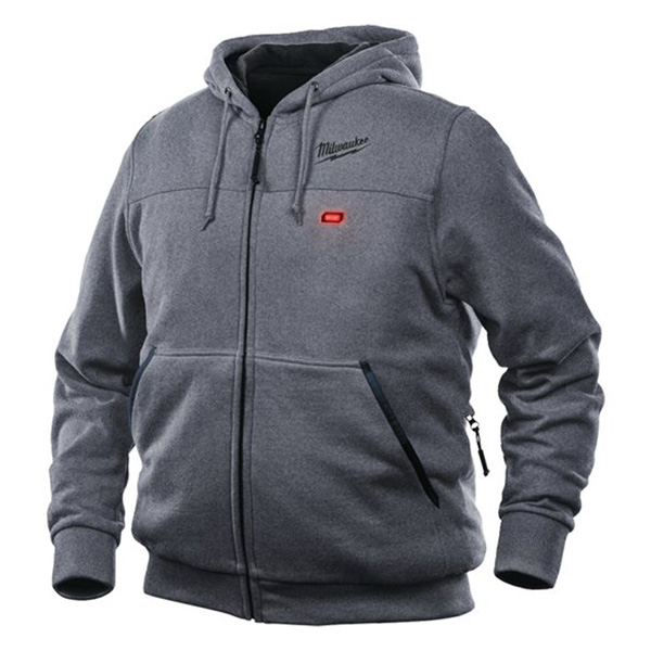 Milwaukee M12 Grey Heated Hoody Medium Naked