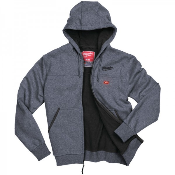 Milwaukee M12 Grey Heated Hoody Extra Large Naked