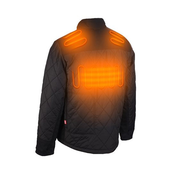 Milwaukee M12 Heated Hybrid Puffer Jacket Large Naked 2021