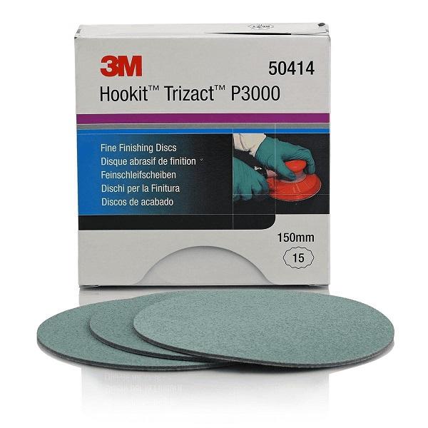 3M Hookit Trizact P3000 150mm 1st 50414