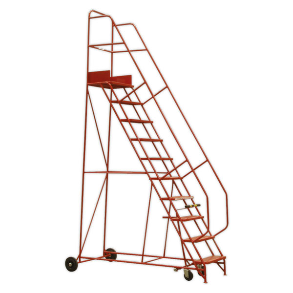 Sealey MSS11 Mobile Safety Steps 11-Tread