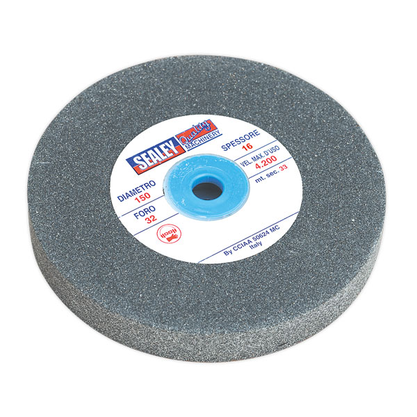 Sealey NBG150/GWF Grinding Stone 150 x 16 x 12.7mm A60P Fine