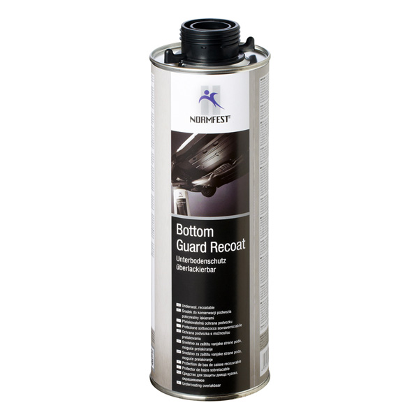 Normfest Bottom Guard Recoat - Underseal, Black, 1000ml