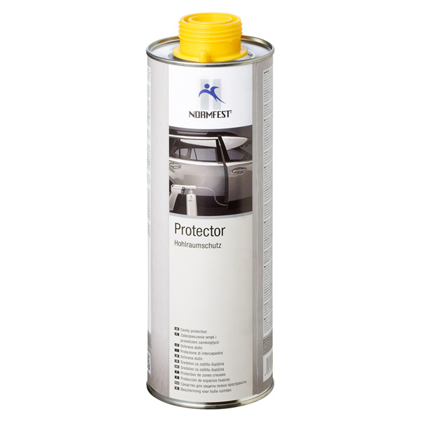 Normfest Bottom Guard - Underbody Protection (cannot be painted over), Black, 1000ml