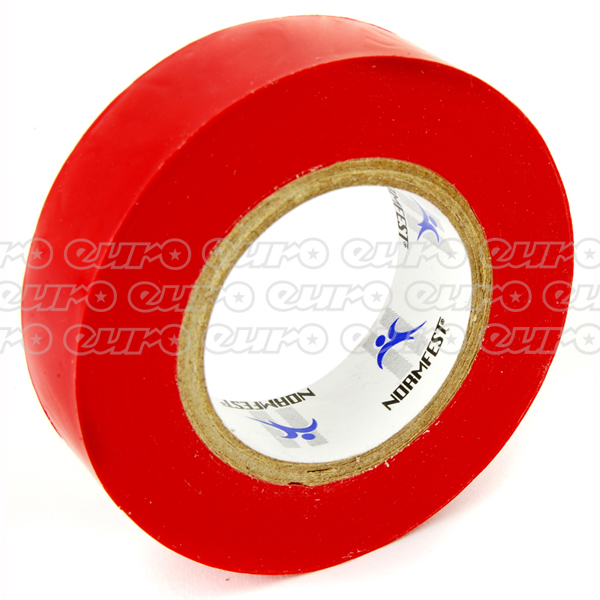 Normfest Insulating Tape Red 10M Qty 10
