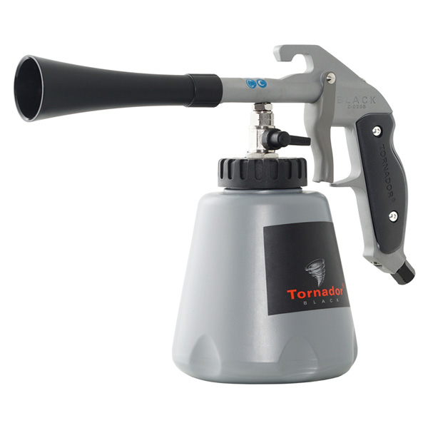 Normfest Tornador Gun Black - Compressed Air-Driven Suction Feed Spray Gun