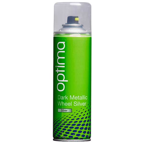 Optima Dark Metallic Wheel Silver Aerosol (300ml)