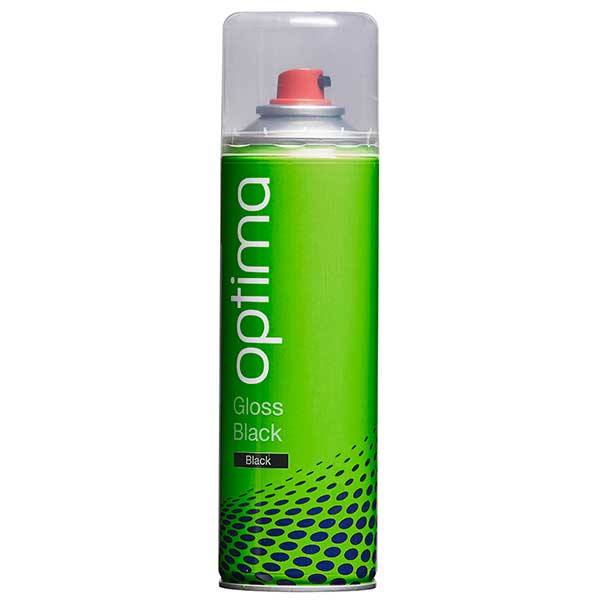 Optima Gloss Black Aerosol (300ml)