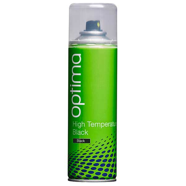 Optima Black High Temperature Aerosol (300ml)